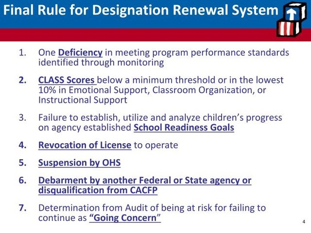 Has the Head Start Designation and Renewal System been working?
